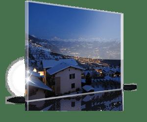Acrylglas Foto zu Weihnachten 2