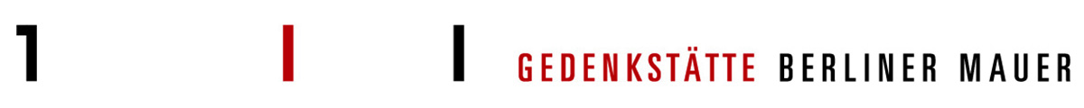 Logo rot schwarz schmal Gedenkstaette cmyk