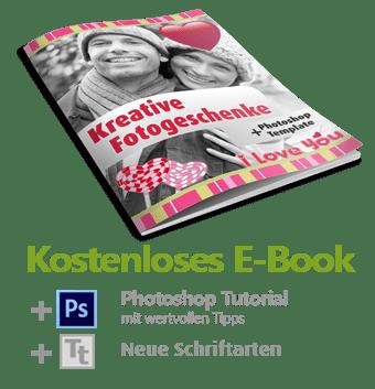Photoshop E Book Fotogeschenk erstellen