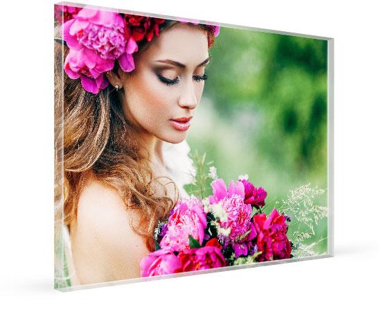 Foto auf Acrylglas gedruckt