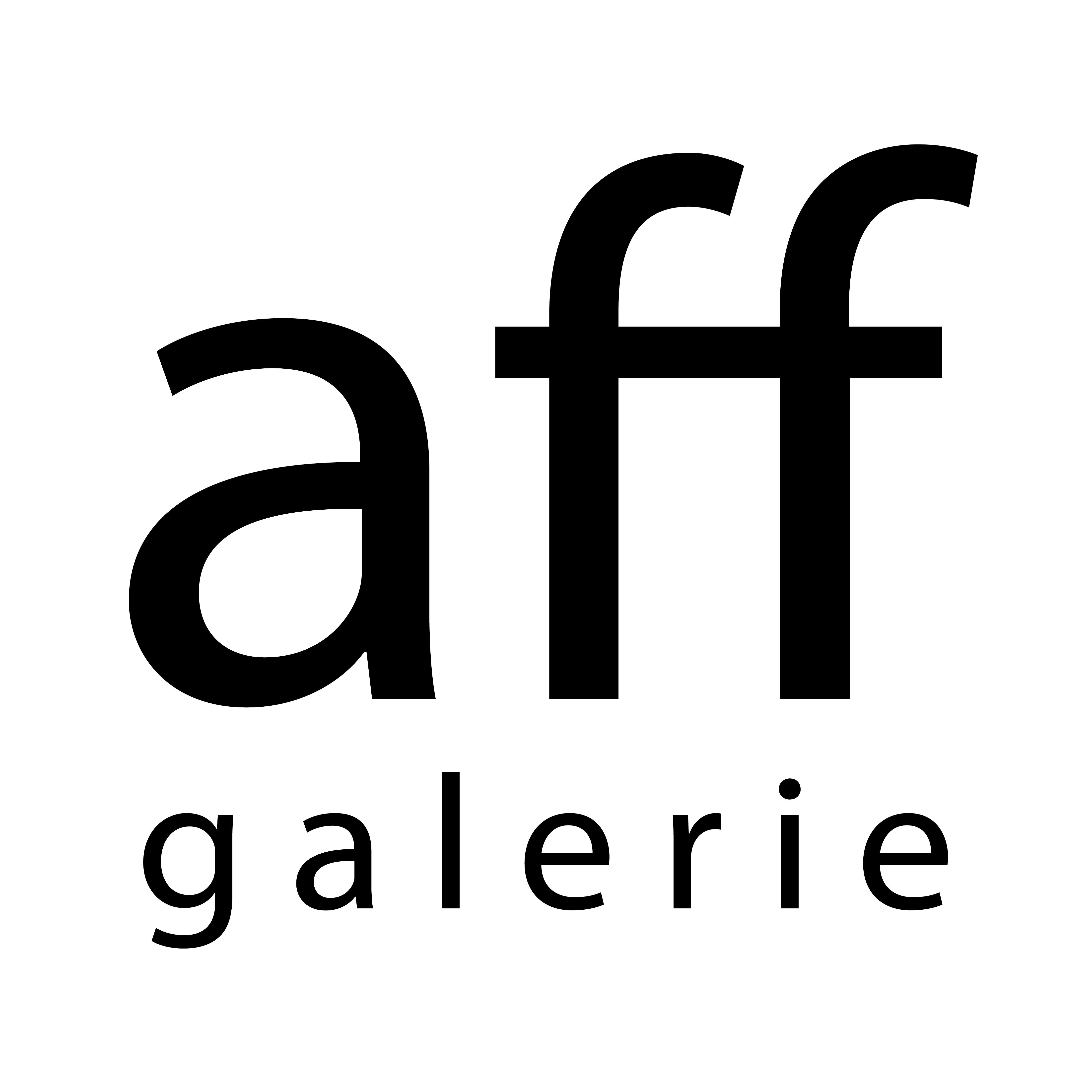 Logo aff galerie