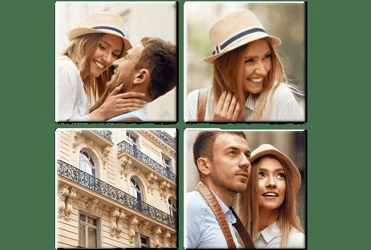 bilder collage 4 teiler top