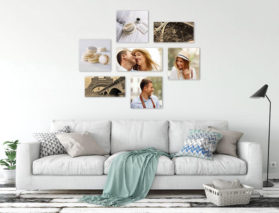 bilderwand wohnzimmer wohnung