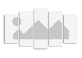Fotoleinwand Mehrteiler in 5 Teilen