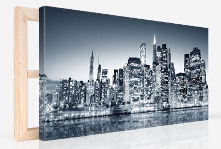Panorama Leinwandfoto auf Keilrahmen