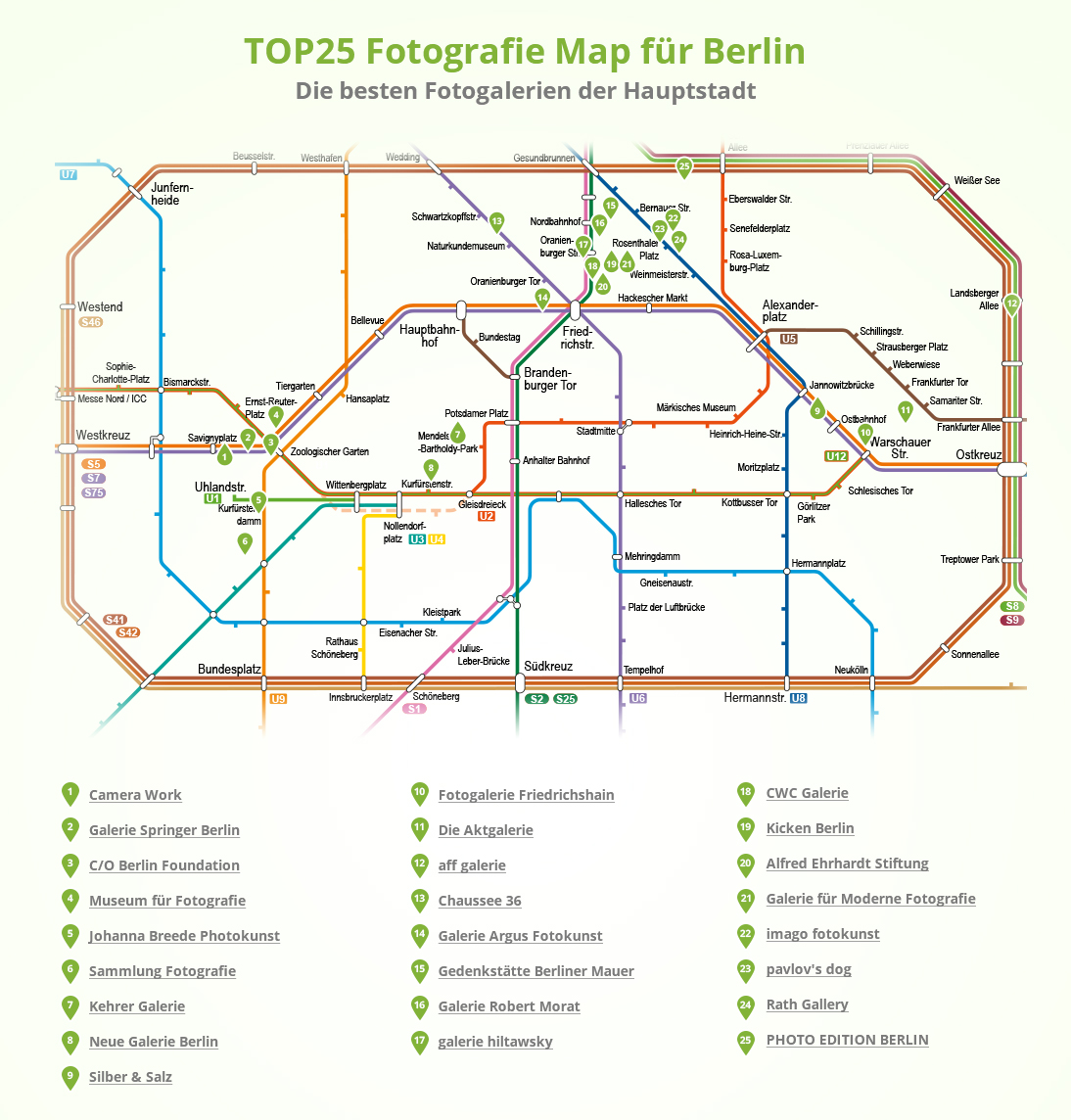 Top 25 Fotogalerie Map Berlin